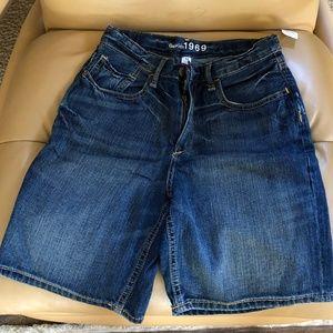 Gap Denim Boy Shorts